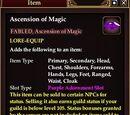 Ascension of Magic