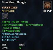 Bloodthorn Bangle