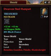 Dwarven Steel Rampart