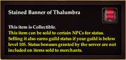 Stained Banner of Thalumbra