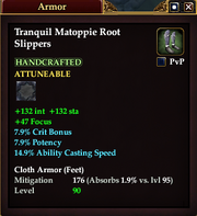 Tranquil Matoppie Root Slippers