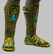 Vesspyr Citizens Green Boots (Equipped)