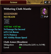 Withering Cloth Mantle