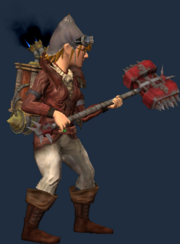 Blacksmith's Bloodiron Greathammer (Equipped)