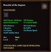 Bracelet of the Impure