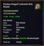 Carbonite Kite Shield