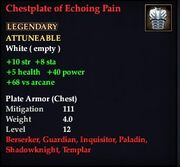 Chestplate of Echoing Pain