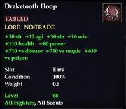 Draketooth Hoop