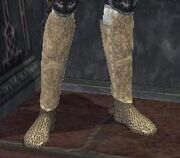 Dwarven Work Boots (Plate) equipped