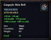 Gargoyle Skin Belt