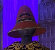 Grand Dracomancer's Cap worn