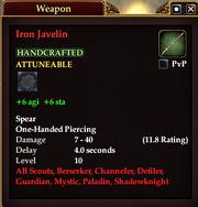 Iron Javelin
