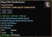 Mug of the Shadowbeast