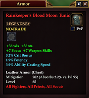 Rainkeeper's Blood Moon Tunic