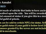 Rubicite Amulet