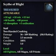 Scythe of Blight