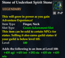 Stone of Underfoot Spirit Stone