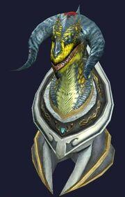 Trophy Venekor's Head (Visible)