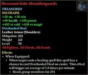 Devoured-hide Shoulderguards