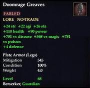 Doomrage Greaves