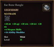 Fae Bone Bangle