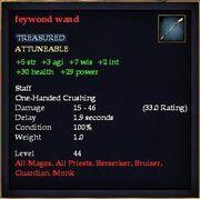 Feywood wand