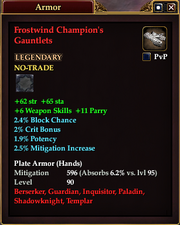 Frostwind Champion's Gauntlets