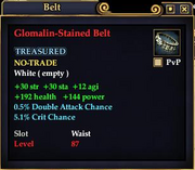 Glomalin-Stained Belt
