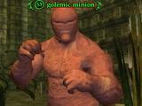 Golemic minion