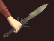 Greensteel Dagger (Equipped)