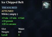Ice Chipped Belt