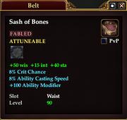 Sash of Bones (90)