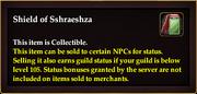 Shield of Sshraeshza