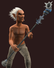 Subaqueous Staff of the Witchdoctor (Equipped)