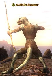 An Allu'thoa bowmaster