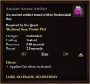 Ancient Arcane Artifact