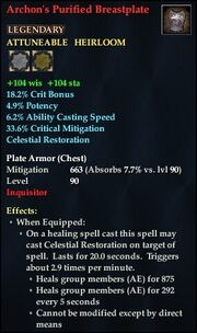 Archon's Purified Breastplate