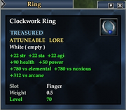 Clockwork Ring