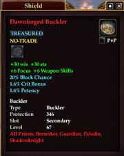 Dawnforged Buckler