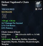 Defiant Vagabond's Chain Tunic