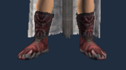 Hill King's Leather Sandals (Equipped)