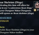 Iksar Skeleton (Dirge)