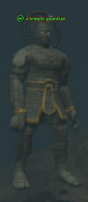 A temple guardian