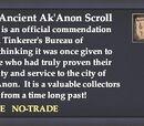An Ancient Ak'Anon Scroll