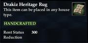 Drakiz Heritage Rug