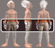 Gauntlets of the Ragebourne Champion (Equipped)