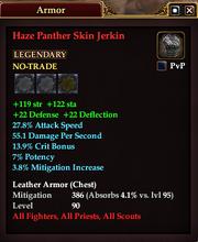 Haze Panther Skin Jerkin