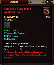 Lumrick's Brace of the Gnomish Pirate