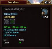 Pendant of Skyfire