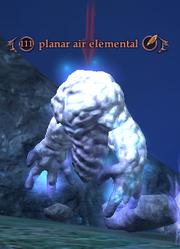 Planar air elemental